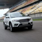 HAVAL H6 COUPE RACES WITH PASSION AT SHANGHAI F1 RACING TRACK