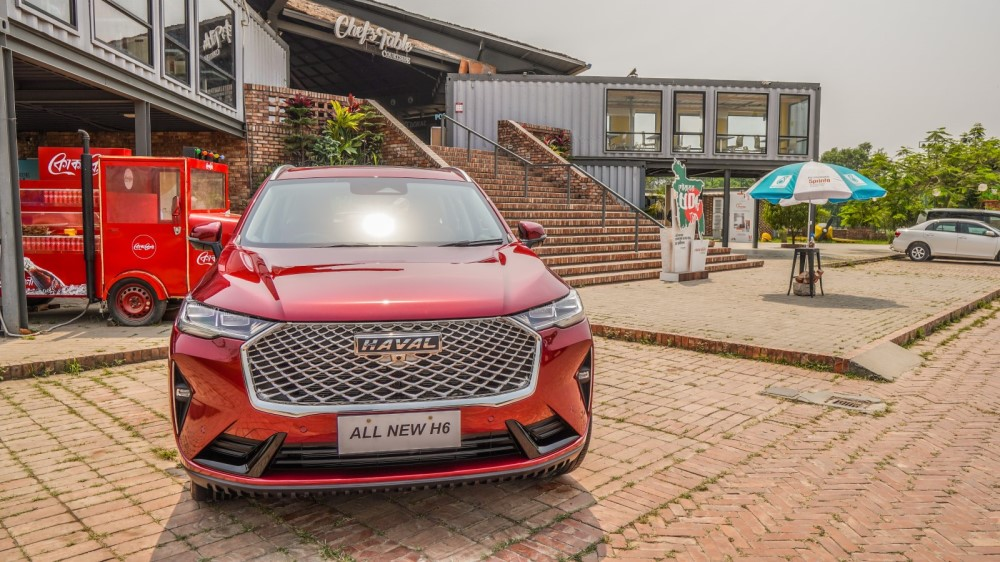 3rd generation Haval H6 Haval Bangladesh Haaval H6 Coupe (4)